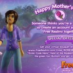 Free Realms Gift For Mother's Day!