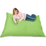 your zone big bag lounger, green glaze