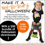 "YouCanMakeThis.com ""Not-so-Scary"" Halloween Giveaway"