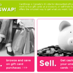 CardSwap.ca – Canada's #1 Site For Discounted Gift Cards -iPod Touch Giveaway