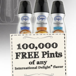FREE International Delight Pint of Coffee Creamer