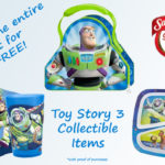Free Disney Pixar Toy Story 3 Collectible Mealtime Items And 3-2-1 Lunch Time Sweepstakes!