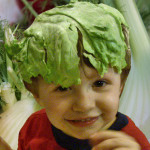Wordless Wednesday-My Head Of Lettuce – Organically Grown