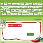 I Heart Heinz Ketchup Instant Win Game