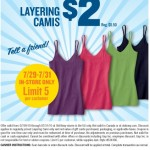 Old Navy $2 Secret Cami Sale Starts Today!