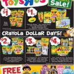 Toys R Us Back To School Crayola Blowout & More!