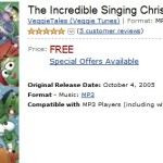 FREE VeggieTales -The Incredible Singing Christmas Tree ($9.98 Value)!
