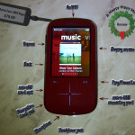 SanDisk's Sansa Fuze+ MP3 player and VH1 SlotRadio Card Review-High Performance With A Low Cost!