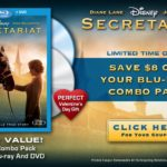 Save $8 off Your Secretariat Blu-ray Combo Pack!