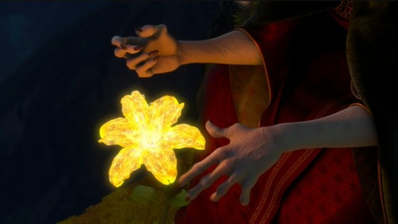 Tangled-magic flower