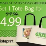 Vistaprint St. Patrick's Day Tote Bag!