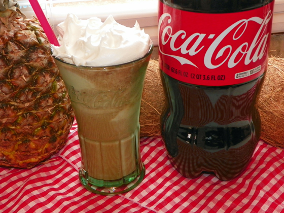 Coca Cola Vanilla Float