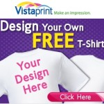 FREE Personalized T-Shirt from Vistaprint