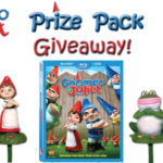 Q&A With Gnomes Expert Twigs Way And GNOMEO & JULIET Prize Pack Giveaway! 3 Winners!