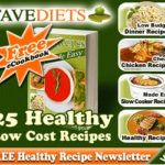 """FREE """"Cheap Recipes Made Easy: 25 Healthy Low Cost Recipes"""""""