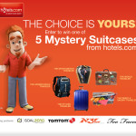 "hotels.com Mystery Suitcase Sweepstakes & $50 ""World Traveler-themed"" Gift Card Giveaway!"