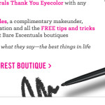 FREE Big & Bright Eyeliner in-store at Bare Escentuals!
