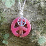 Metrohippymom Designs Beautiful Peace Necklace Giveaway!