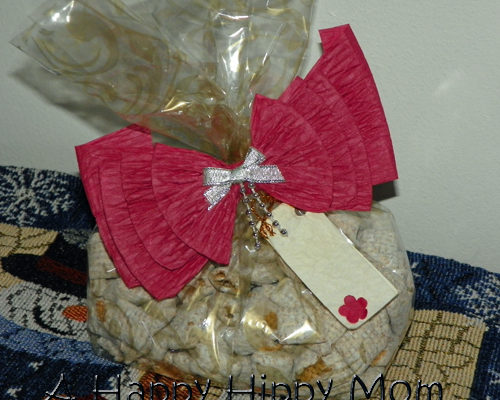 Chex Mix gift bags
