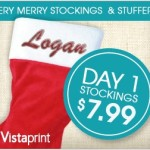 Vistaprint Stockings and Stuffers! DAY 1 Embroidered Stockings!
