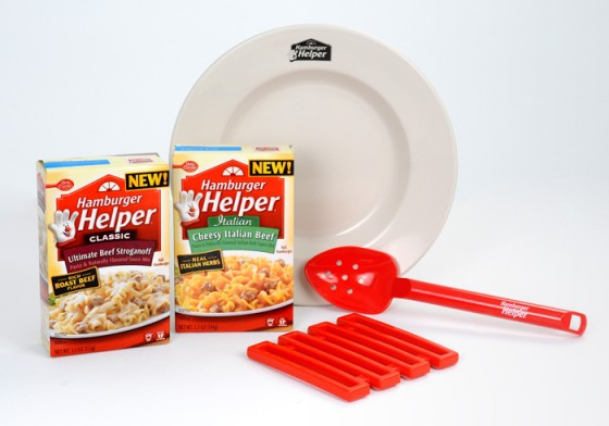 Hamburger Helper Prize Pack