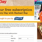 Every Day with Rachael Ray Magazine FREE 1 Year Subscription!