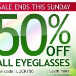 GlassesUSA 50% Off Storewide – St. Patrick's Day Sale!