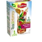 NEW Lipton Tea & Honey Review, Cocktail Recipes, Samples & Giveaway! -5 Winners