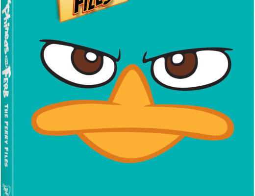 Phineas and Ferb The Perry Files DVD