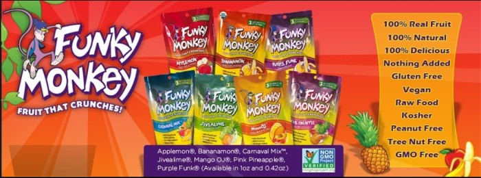 Funky Monkey Fruit Snacks