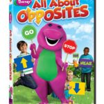 "Barney  ""All About Opposites"" DVD Review & Giveaway!"
