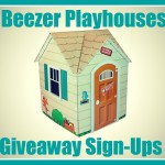 Beezer Playhouses Giveaway – Free Blogger Event!