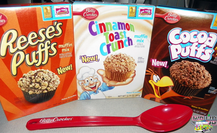 Betty Crocker Cereal Muffin Mixes
