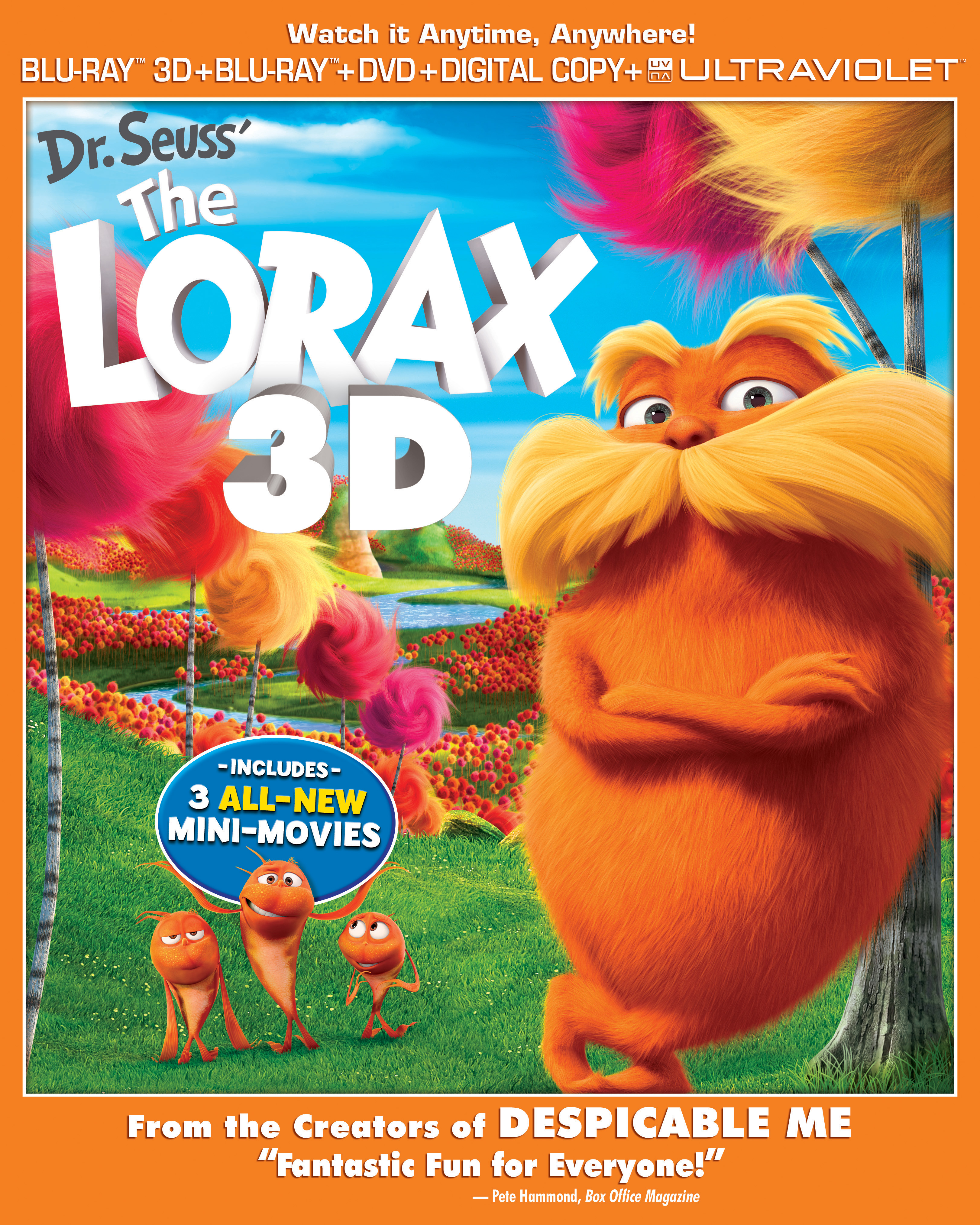 DR. SEUSS' THE LORAX Review & FREE Fun Activity Sheet!