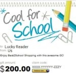 $200 Amazon.com Back-To-School Giveaway!  #back2school