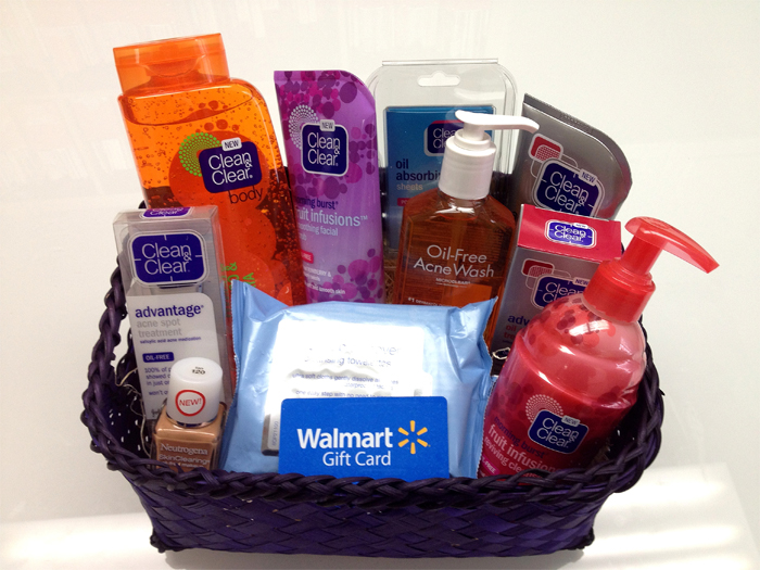 back to school basket & GC