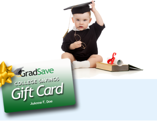 GradSave College Savings Gift Card