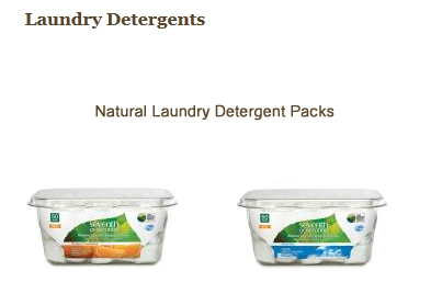 Laundry Detergent Packs