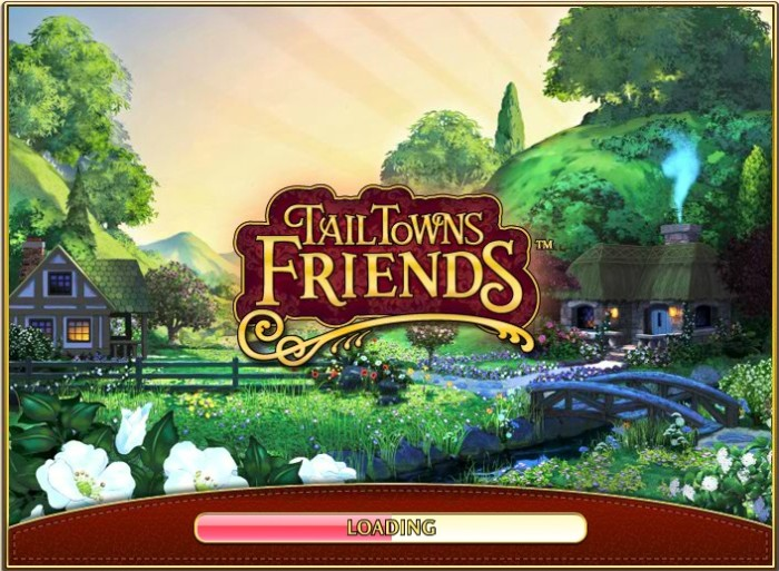 Tail Towns Friends Loading Page