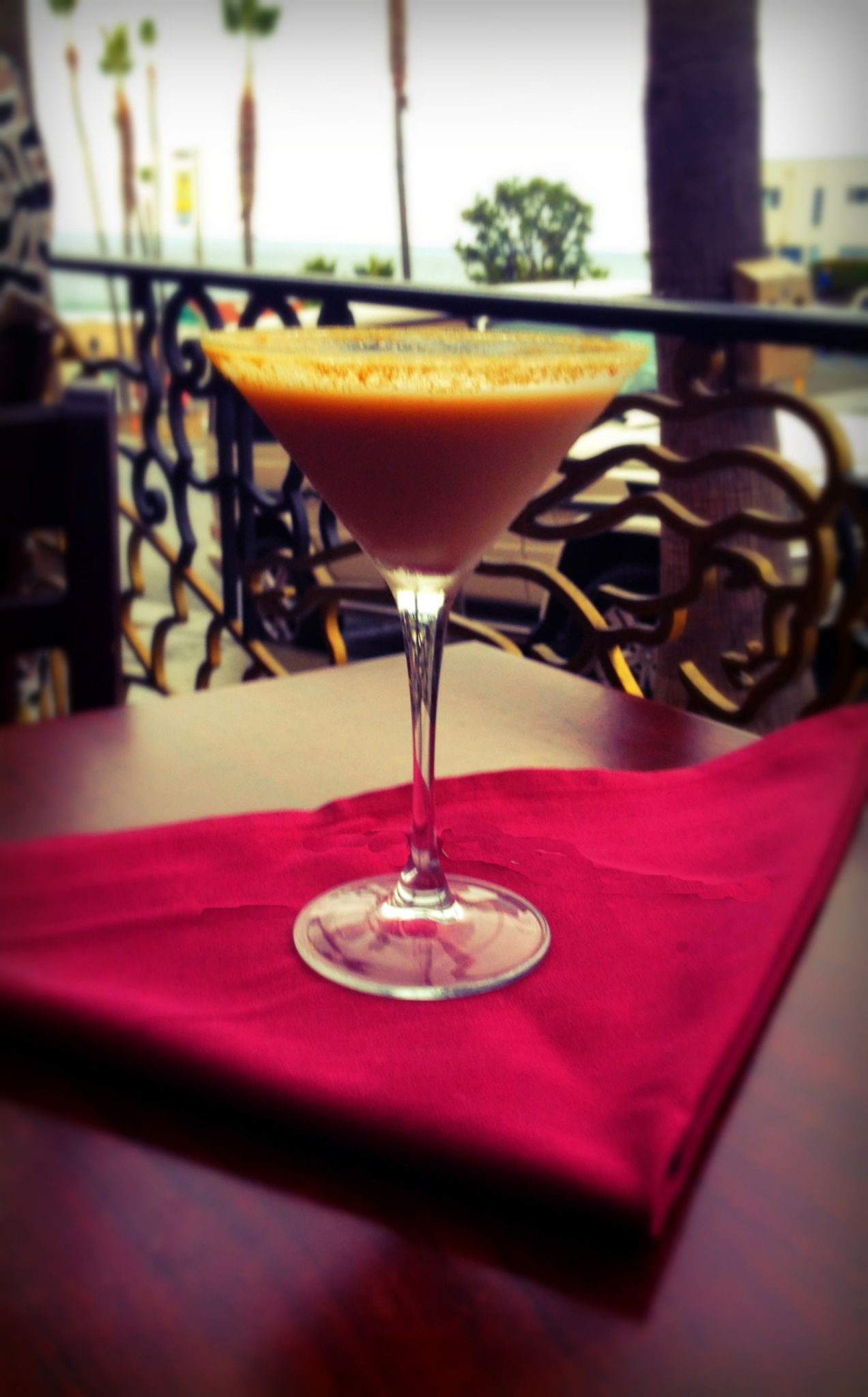 Rock'n Fish's SECRET EGGNOG MARTINI