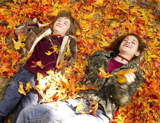 """""""THE ODD LIFE OF TIMOTHY GREEN""""Timothy Green (CJ Adams, left) and Joni Jerome (Odeya Rush, right) form a special bond when each of them reveals their deepest secrets.Ph: Phil Bray©Disney Enterprises, Inc. All Rights Reserved."""
