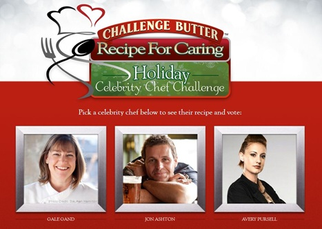 Recipe For Caring Holiday Celebrity Chef Challenge