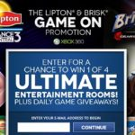 "Lipton Iced Tea & Dance Central 3 ""Game On"" Instant Win Game & Sweepstakes!"