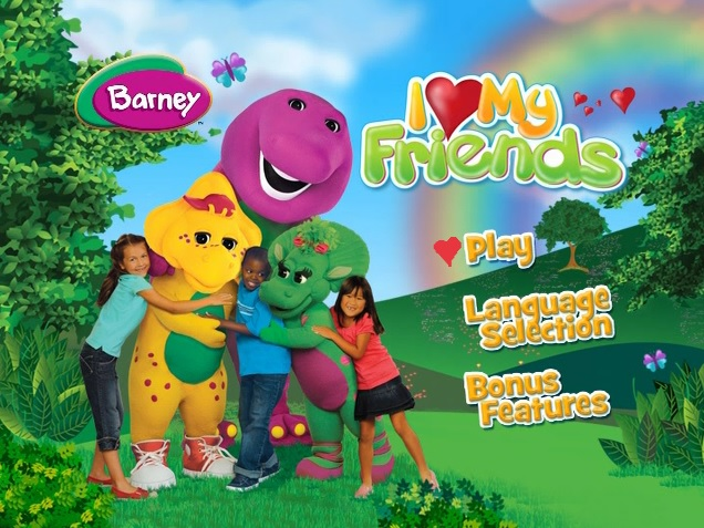 Barney I Love My Friends