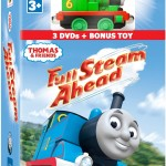Thomas & Friends Full Steam Ahead 3-DVD & Toy Gift Set Giveaway