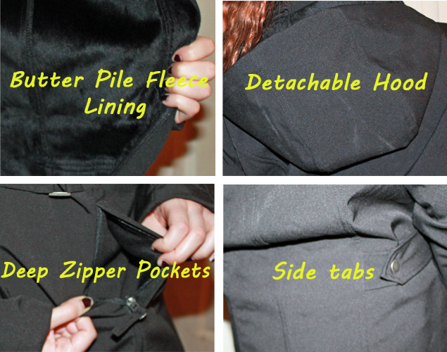 Jacket Features