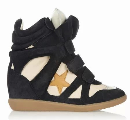 UPERE ASTER WEDGE SNEAKERS