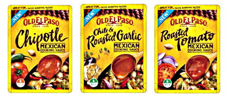 Old El Paso Mexican Cooking Sauces