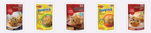 Betty Crocker Small Pouches