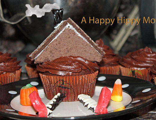 House On Witch Cupcakes